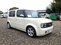 FRESH IMPORT 2006 NISSAN CUBE CUBIC PREMIUM 1.5 AUTOMATIC 7 SEATER PEARL WHITE