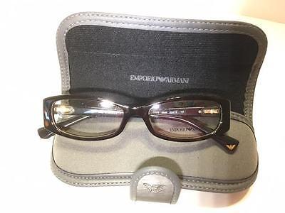NEW 100% AUTHENTIC EMPORIO ARMANI Eyeglasses EA 3007 5026 Dark Brown 53mm