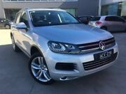 2014 Volkswagen Touareg 7P MY14 V6 TDI Tiptronic 4MOTION Silver 8 Speed Sports Automatic Wagon Ravenhall Melton Area Preview