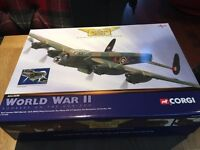 Corgi Die-Cast WWII Military Aircraft and Tanks Collection