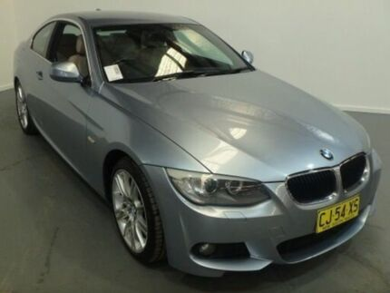 2011 BMW 320D E92 MY11 Silver 6 Speed Auto Steptronic Coupe Kooringal Wagga Wagga City Preview