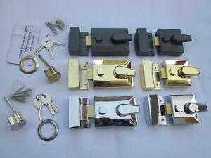 DOUBLE-LOCKING-DOOR-DEADLOCK-CYLINDER-YALE-TYPE-LOCK-NIGHT-LATCH-FRONT-DOOR