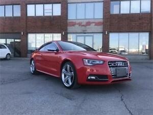 2013 AUDI S5 PREMIUM 6SPD 3.0T!$84.17 WEEKLY WITH $0 DOWN!MINT!!