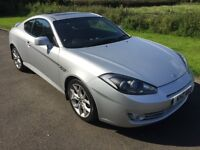 NOW SOLD 2007 Hyundai Coupe 2.0 16v SIII A, full heated leather, FSH, 1yrs Mot, 6mth warranty