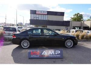 "2006 BMW 7 Series 750i Executive PKG 20"" wheels black on black!"