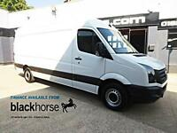 2014 Volkswagen Crafter CR35 2.0TDi 136ps LWB High Roof E/W Diesel white Manual