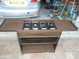 Philips Hostess, Trolley Good Condition £30