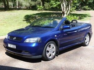 2005 Holden Astra TS Convertible Blue 4 Speed Automatic Convertible Glenning Valley Wyong Area Preview