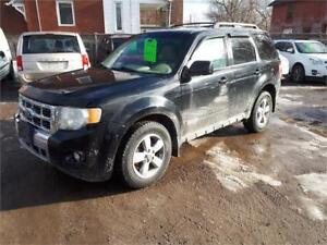 2010 Ford Escape Limited-AWD-Leather-Heated Seats-Backup Camera