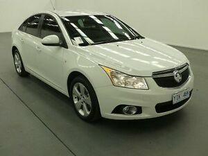 2013 Holden Cruze JH MY14 Equipe White 6 Speed Automatic Sedan Fyshwick South Canberra Preview