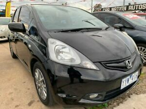 2010 Honda Jazz GE MY10 VTi Limited Edition Black 5 Speed Automatic Hatchback Maidstone Maribyrnong Area Preview