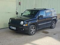 JEEP PATRIOT LIMITED 2.0 CRD DIESEL EDITION, MANUAL GEARBOX, LEATHER, LOW MILEAGE, CLUTCH PROBLEM