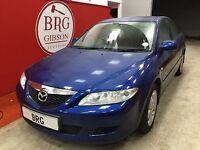 Mazda 6 (blue) 2003
