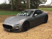 2012 Maserati Gran Turismo Sport. Matte Grey