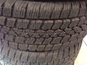 15 inch winter tires for sale- used Kitchener / Waterloo Kitchener Area image 2
