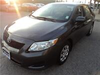 2010 Toyota Corolla CERTIFIED AND E-TEST CLEAN CARPROOF