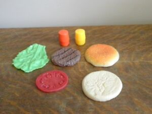 Fisher Price Burger Deluxe Vintage