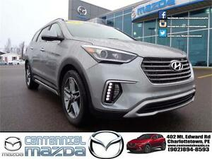 2017 Hyundai Santa Fe XL Limited AWD S/R B/U CAMERA