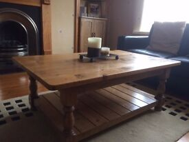 Wooden table and lamp table. Reduced price! Both in great condition.
