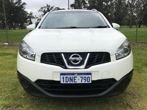 2011 Nissan Dualis J10 Series II MY2010 +2 Hatch X-tronic ST White 6 Speed Constant Variable