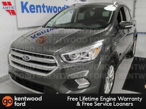 2018 Ford Escape Titanium 4WD ecoboost. NAV, heated power leathe