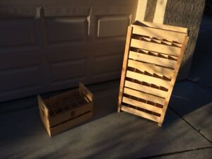 Stackable Wooden Wine Boxes
