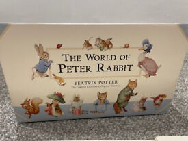 (New!) The World of Peter Rabbit - The Complete Collection of Original Tales, Set of 23 Books