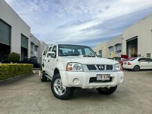 2010 Nissan Navara D22 MY08 ST-R (4x4) White 5 Speed Manual Dual Cab Brendale Pine Rivers Area Preview