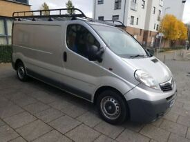 VAUXHALL VIVARO LWB NEW SHAPE SILVER 2008 165K FSH LONG MOT DRIVES MINT PERFECT CONDITION NEW TYRES!