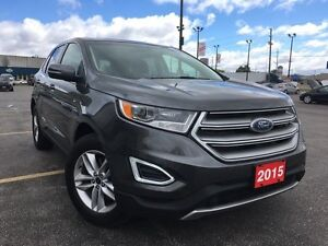 2015 Ford Edge SEL, AWD, V6, Leather, Navi, Push Start