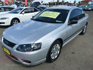 2007 Ford Falcon BF MkII XT Silver 4 Speed Auto Seq Sportshift Sedan Lansvale Liverpool Area Preview