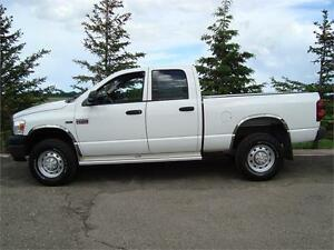 2009 DODGE SLT 2500 HD CREW SHORTBOX 4X4 5.7L 234K ONLY $11,550.