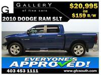 2010 DODGE RAM SLT CREW *EVERYONE APPROVED* $0 DOWN $159/BW!