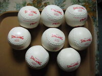 FOR SALE  8  SPALDING  C,O,R, 47 SLOWPITCH,SOFTBALL,S