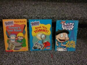 Lot of 3 kid's Rugrats books