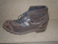 VINTAGE MENS SANCHO BIKER HIKING OUTDOOR BOOTS