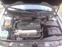 02-06 Genuine Seat leon AUQ engine complete + turbo injectors 1.8T Audi A3 golf mk4 mk1 mk2 mk3 TT