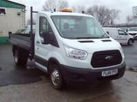 Ford Transit T350 SINGLE CAB TIPPER 125PS NEW SHAPE DIESEL MANUAL WHITE (2016)