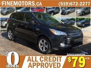 2013 FORD ESCAPE SE * 4X4 * ECO BOOST * CAR LOANS FOR ALL CREDIT