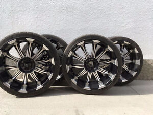 22 inch universal fit Rims for sale