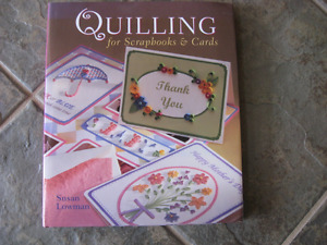 Two Quilling Books for $2