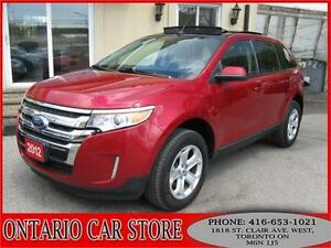 2012 Ford Edge SEL AWD 3.5L LEATHER PANO.ROOF