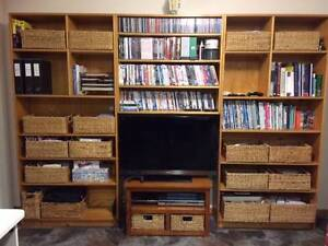 Entertainment Wall Unit Bookcase New Town Hobart City Preview