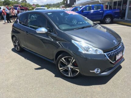 2013 Peugeot 208 A9 MY13 GTi Grey 6 Speed Manual Hatchback Alexandra Headland Maroochydore Area Preview