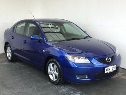 2008 Mazda 3 BK10F2 Maxx Blue 5 Speed Manual Sedan
