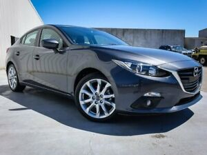 2015 Mazda 3 BM5238 SP25 SKYACTIV-Drive Grey 6 Speed Sports Automatic Sedan Canning Vale Canning Area Preview