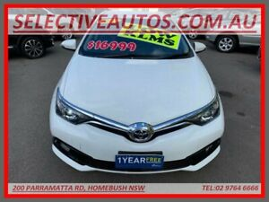 2017 Toyota Corolla ZRE182R MY17 Ascent White 7 Speed CVT Auto Sequential Hatchback Homebush Strathfield Area Preview