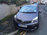 2014 TOYOTA YARIS. Good Condition. Just passed MOT! Only selling due to job with company car!