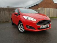 FORD FIESTA 1.2 ZETEC 3DR (red) 2013