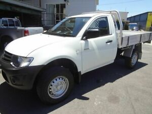 2014 Mitsubishi Triton MN MY15 GL White 5 Speed Manual Cab Chassis Coopers Plains Brisbane South West Preview
